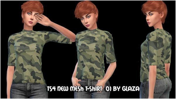 All by Glaza: T shirt 01
