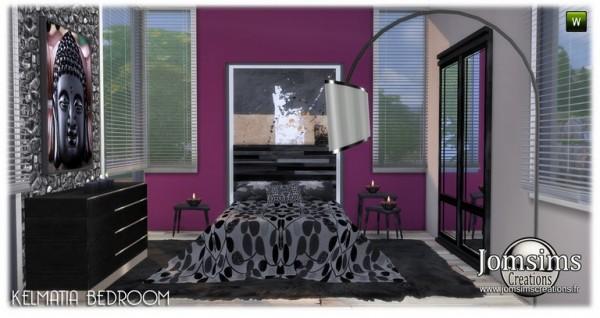 Jom Sims Creations: Kelmatia bedroom