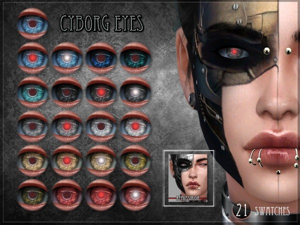 The Sims Resource: Cyborg Set by RemusSirion