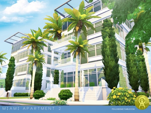 The Sims Resource: Miami Apartment 2 by Pralinesims