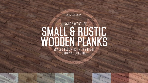 Simsational designs: Small and Rustic Wooden Planks