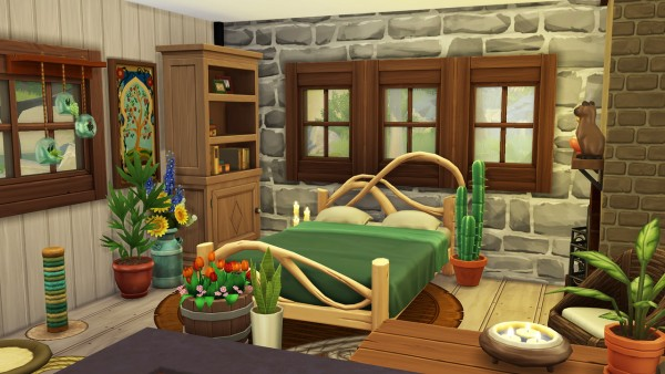 Aveline Sims: Tiny Floating House