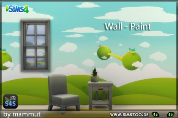 Blackys Sims 4 Zoo: Wall paint 1 by mammut