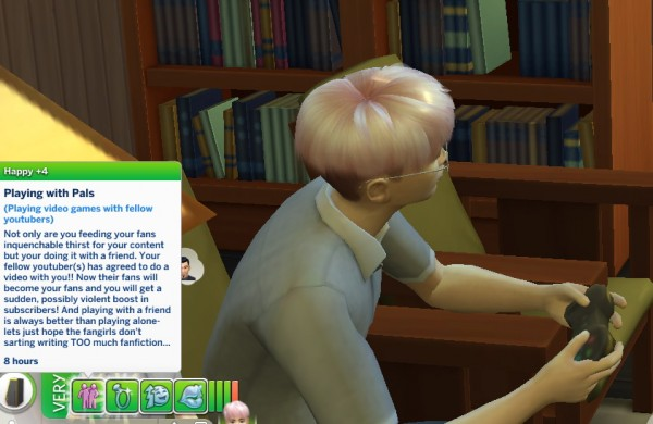 Mod The Sims: Youtuber Trait by ChloeTheNinja