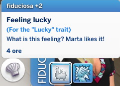 Mod The Sims: Lucky Trait by Daleko