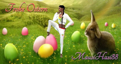 Mausihasi 88: CAS Background Easter 2018