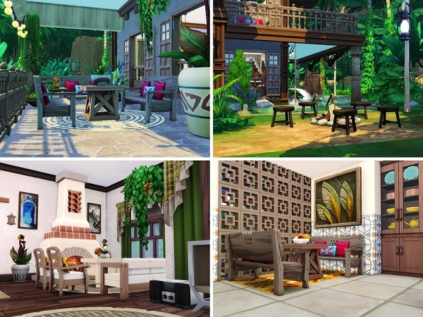The Sims Resource: Wild Life In Tropics house by MychQQQ