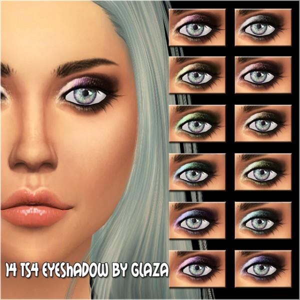 All by Glaza: Eyeshadow 14