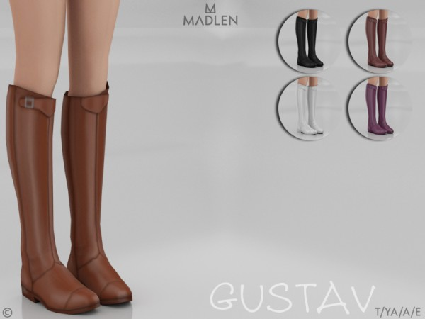 The Sims Resource: Madlen Gustav Boots by MJ95