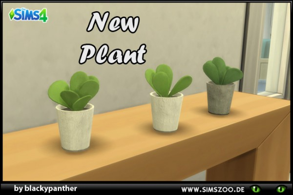 Blackys Sims 4 Zoo: Room plant 6 by blackypanther