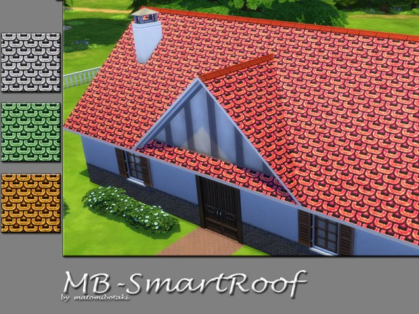 The Sims Resource: Smart Roof by matomibotaki