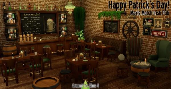 Around The Sims 4: Irish Pub