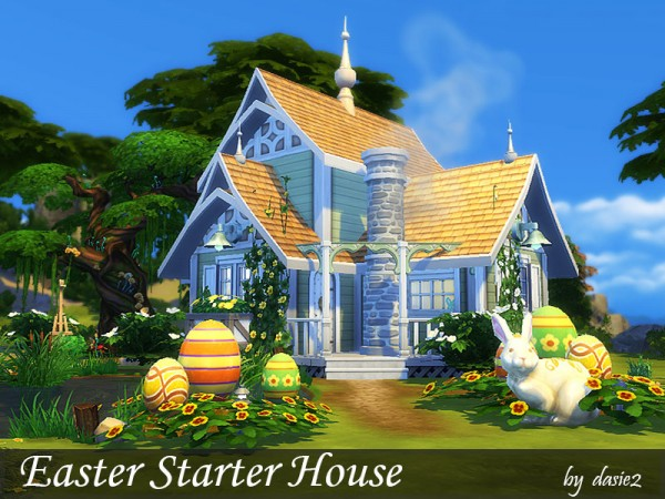 The Sims Resource: Easter Starter House by dasie 2