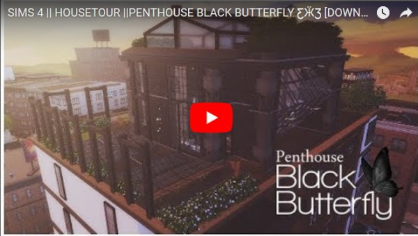 Ideassims4 art: Penthouse Black Butterfly