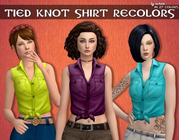 Tukete: Tied Knot Shirt Recolors