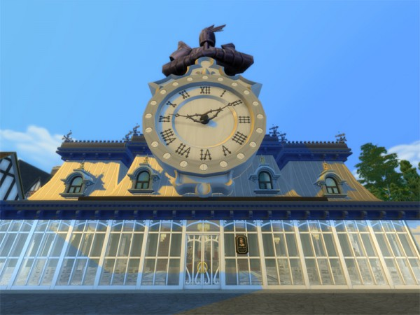 The Sims Resource: Coffe palace by OVERLORD CHAOS!