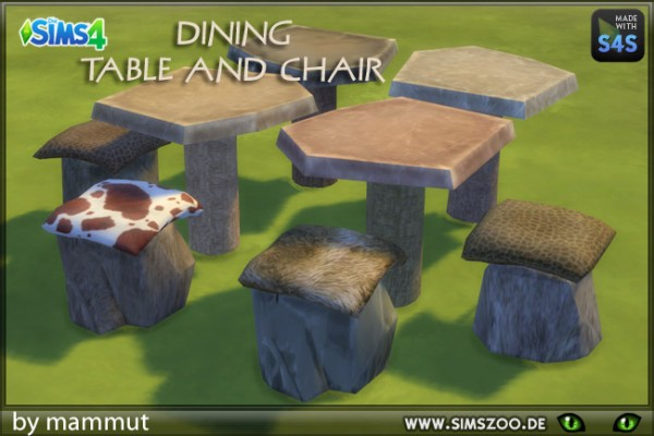 Blackys Sims 4 Zoo: Old Age Dining by mammut