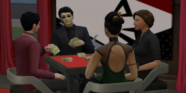 Mod The Sims: Gambling Den Career Vampire Friendly by PurpleThistles