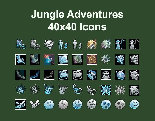 Mod The Sims Jungle Adventure Icons By Simmiller Sims 4