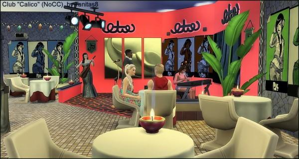 "Tanitas Sims: Club ""Calico"" Nocc"