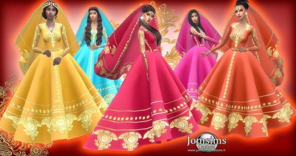 Jom Sims Creations: Exotic wedding