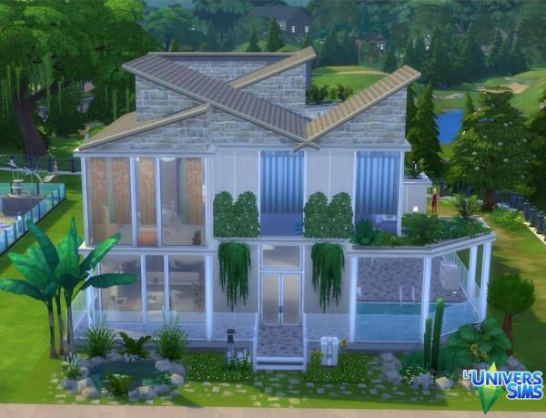 Luniversims: Modern house by Biondina