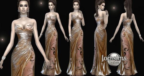 Jom Sims Creations: Alenelda dress