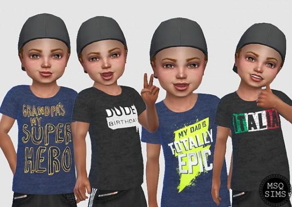 MSQ Sims: Boys tee 2