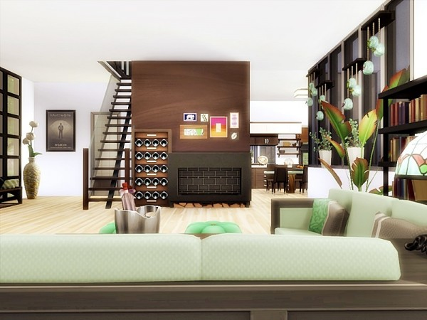 The Sims Resource: Cube house by Danuta720