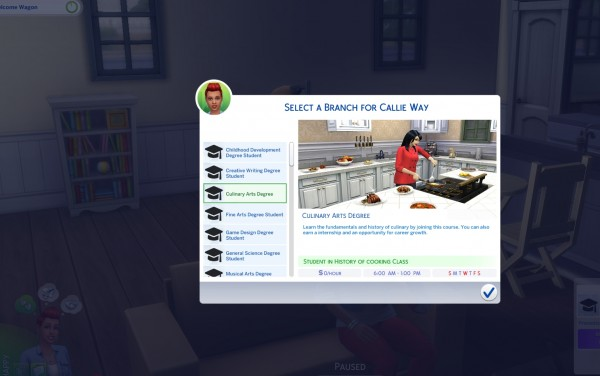Mod The Sims University Career Mod By Kawaiistacie Sims