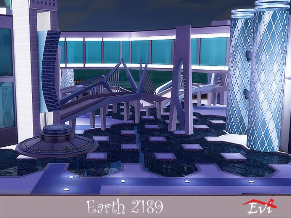 The Sims Resource: Earth 2189 Lunar Year by evi