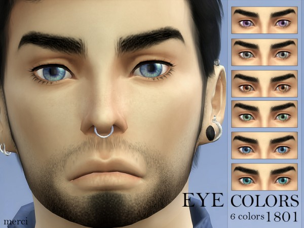 The Sims Resource: Eyecolor 1801 by Merci