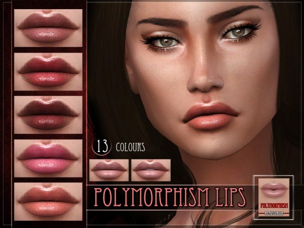 The Sims Resource: Polymorphism Lipstick by Remus Sirion