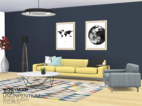 The Sims Resource: Ununpentium Livingroom   I by wondymoon