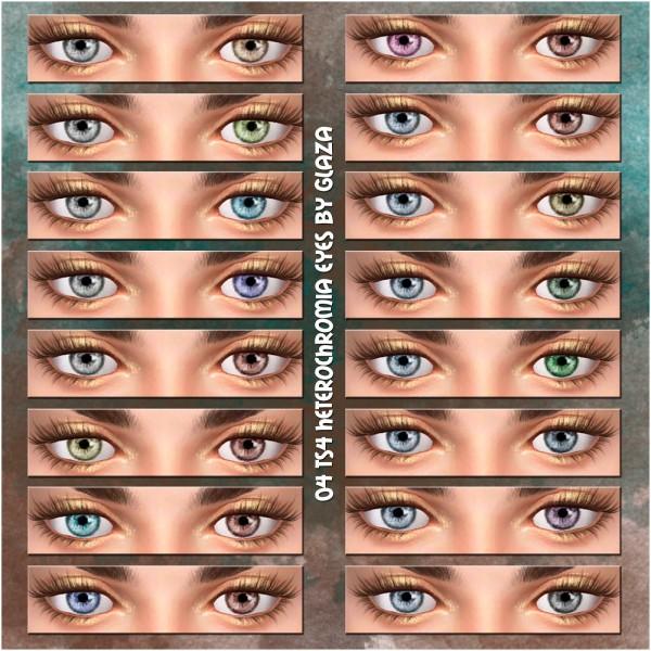 All by Glaza: Heterochromia eyes