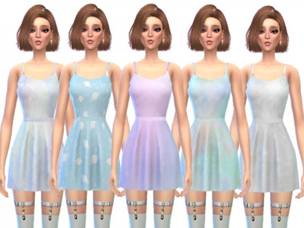 The Sims Resource: Spring Mini Dresses by Wicked Kittie