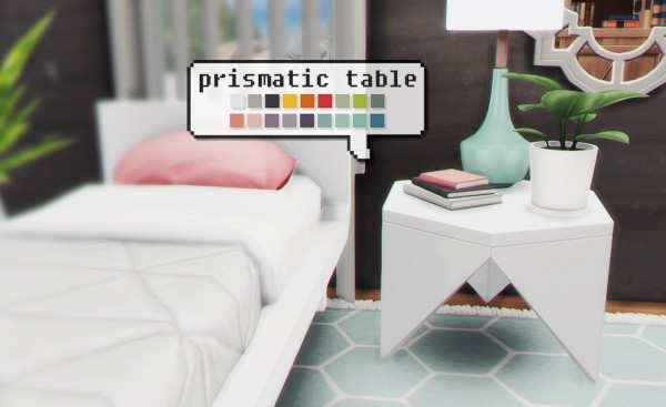 The Plumbob Architect: Prismatic table