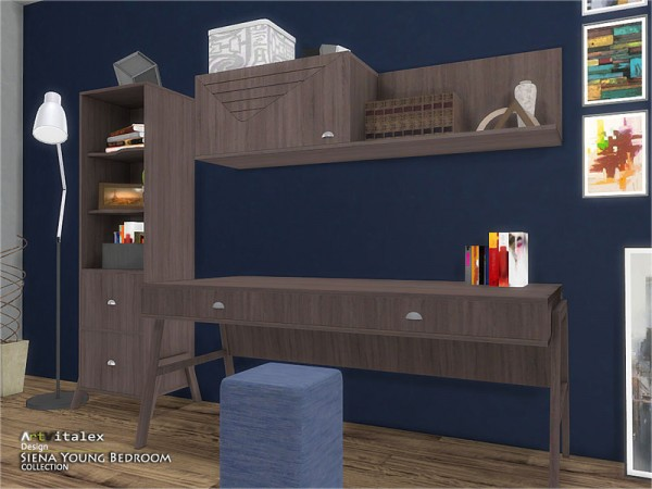 The Sims Resource: Siena Young Bedroom by ArtVitalex