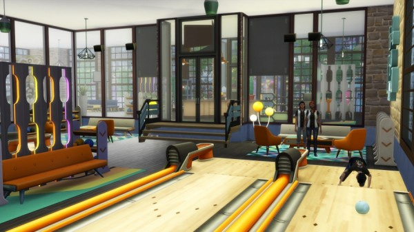 Sims Artists: Bowling Roll my ball