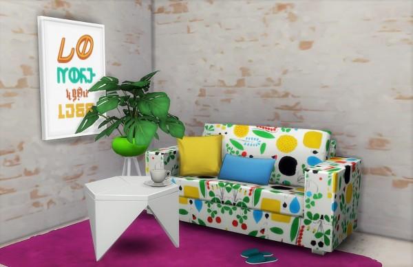 Budgie2budgie: BG sofa recolored