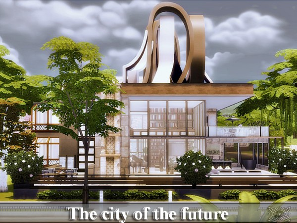 The Sims Resource: The city of the future by Danuta720