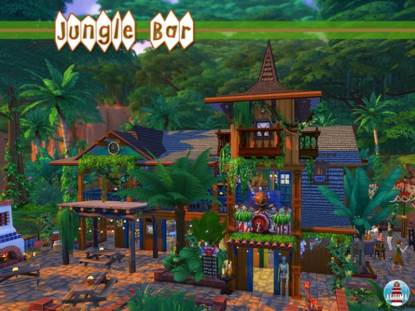 Akisima Sims Blog: Jungle Bar
