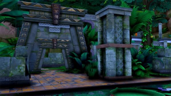 Simsational designs: Alum Archaeology Site
