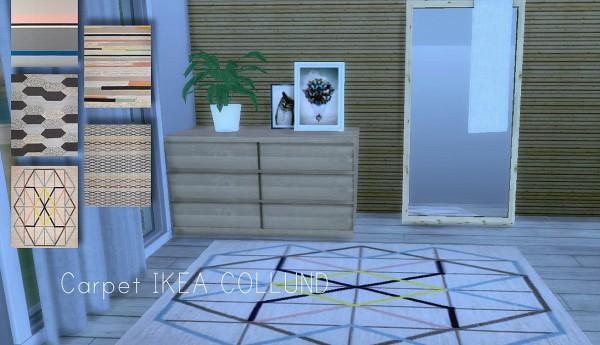 Lafleur 4 Sims: Carpet Collund