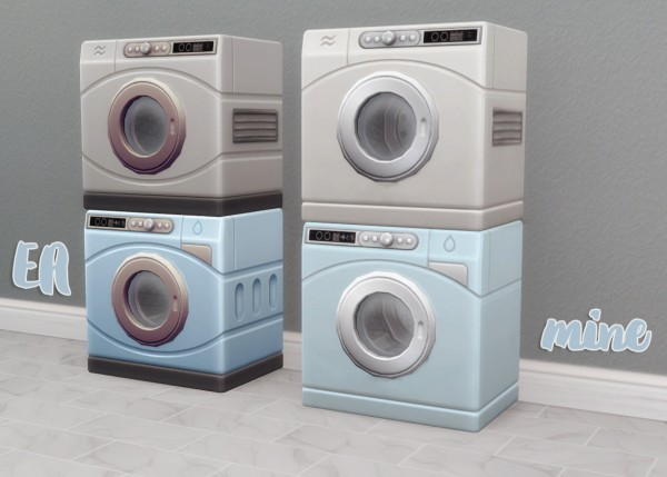 Hamburgercakes: Spring Cleaning Washer and Dryer