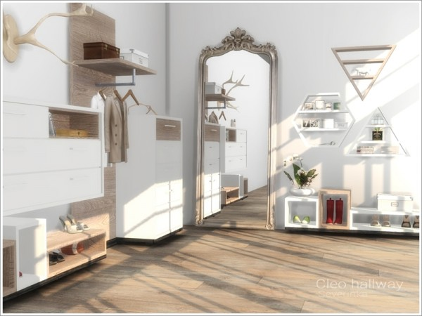 The Sims Resource: Cleo hallway by Severinka