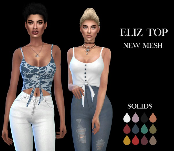 Leo 4 Sims: Eliz top fixed