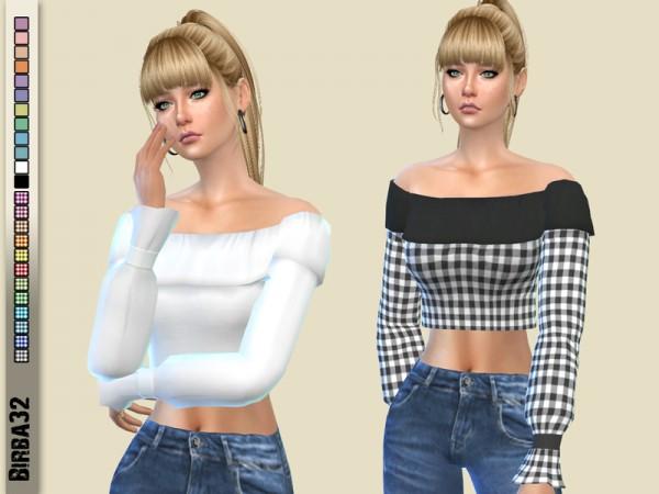 The Sims Resource: Betty sweater by Birba32