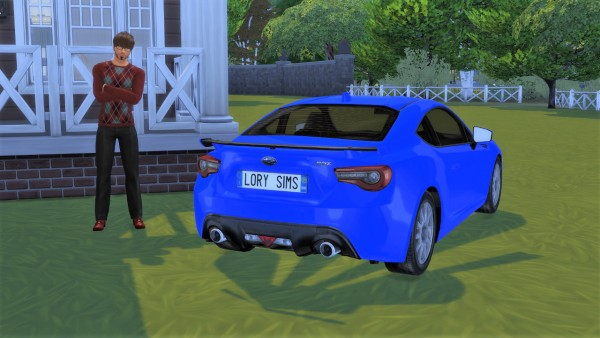 Lory Sims: Subaru BRZ