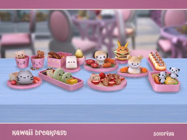 The Sims Resource Kawaii Breakfast By Soloriya Sims 4